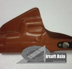 Leather Waist Holster (Brown)