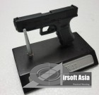 Miniature Steel Glock with Stand