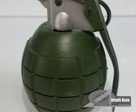 Replica Grenade with Exploding Sound Effect (Olive Green)